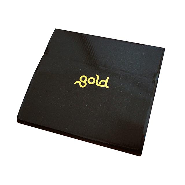 gold cardboard